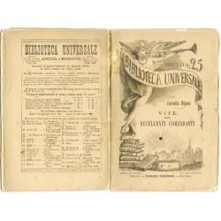Biblioteca Universale - Cornelio Nipote, Vite degli eccellenti comandanti (1883) volgarizzato da Pier Domenico Soresi