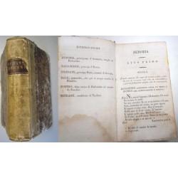 Pietro Metastasio, Zenobia (1825) Collezione portatile, Borghi