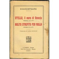 Shakespeare, Otello il moro di Venezia - Molto strepito per Nulla (1926) Barion