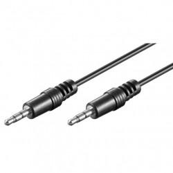 Cavo Audio Stereo Jack 3.5 mm M/M 1,5 metri