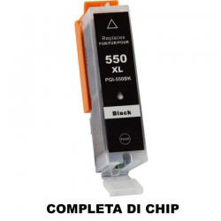 CARTUCCIA COMPATIBILE CANON PGI-550BK XL NERO