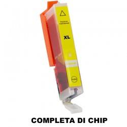 CARTUCCIA COMPATIBILE CANON CLI-551Y XL GIALLO