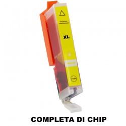CARTUCCIA COMPATIBILE CANON PGI-571Y XL GIALLO