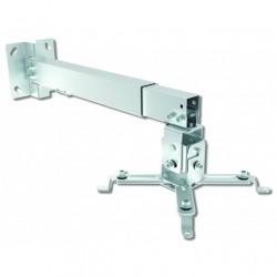 Supporto Universale da Parete-Soffitto per Proiettori, estensibile da 43 a 65 cm Silver