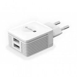 Caricatore USB 2 porte 2.1A