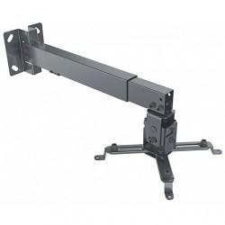 Supporto Universale da Parete-Soffitto per Proiettori, estensibile da 43 a 65 cm.
