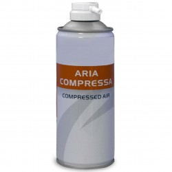 Bomboletta Aria compressa Air Duster 400 ml.