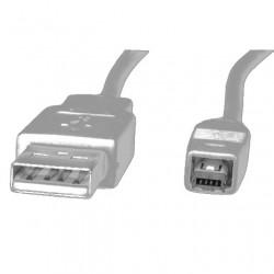 CAVO ADATTATORE DA USB A MASCHIO A HIROSE 4 pin 1,8 mt. per fotocamera digitale, mp3