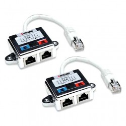 Coppia Cable economizer, Sdoppiatore di Cavo di rete UTP/STP Cat. 5e