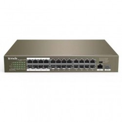 Switch PoE 24 porte 10/100Mbps + 1 GE/SFP Tenda TEF1126P
