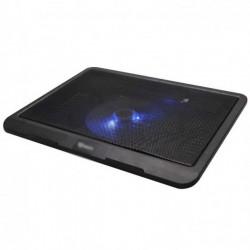 Base supporto Dissipatore USB per Notebook ventola 14 cm. con Illuminazione (NBFAN2)