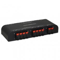 Commutatore audio per casse acustiche 4 vie con Terminali a pressione
