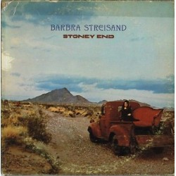 SOLO COPERTINA SENZA DISCO (NO LP) - Barbra Streisand, Stoney End (1981)