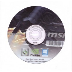 DRIVER CD 1749 PER SCHEDE VIDEO MSI CON CHIPSET NVIDIA WINDOWS 7 8 10