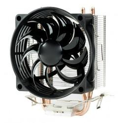 Dissipatore UNIVERSALE ITEK per Itel e AMD 4pin PWM 2 HeatPipe , con Ventola 12 cm.