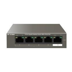 Switch 5 port 10/100, 4 porte PoE IP-COM S1105-4-PWR-H