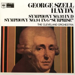 Haydn: G. Szell, Cleveland Orchestra- Symphony No. 93 In D Major/Symphony No. 94 In G Major