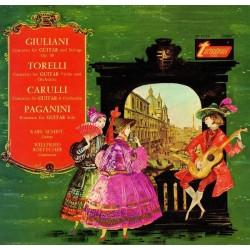 M.Giuliani/G.Torelli/F.Carulli,/Paganini: Karl Scheit - Musik Für Gitarre