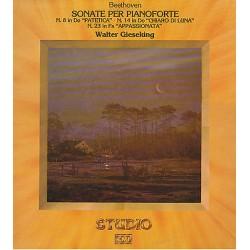 Beethoven: Walter Gieseking - Sonate per pianoforte 8, 14 , 23