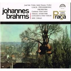 Brahms: J.Suk,A.Navarra,Czech Philharmonic Orch.,K.Ancerl-Tragic Overture/Concerto For Violin & Cello