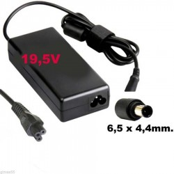 Alimentatore caricabatteria x Notebook SONY 19,5V fino a 4,1A 80W 6,0x4,4mm