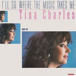 "TINA CHARLES - I'll go where the music takes me / Love Bug (ITA 1988 CARRERE) CAR 72515 Maxi-Single 12"" 45 giri"