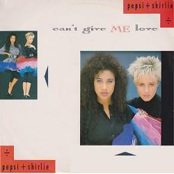 "PEPSI + SHIRLIE - Can't give me love / It's a shame (UK 1987 Polydor POSPX 885 (887 060-1)) Single 12"" 45 giri"