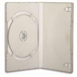 CUSTODIA PER DVD/BLU-RAY TRASPARENTE CONFEZIONE  25 PZ