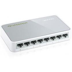 Switch desktop 8 porte 10/100 Mbps plug & play TL-SF1008D