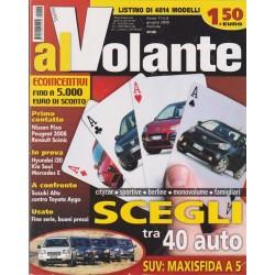 Al Volante 2009 n. 6 Hunday i20-Kia Soul-Mercedes E
