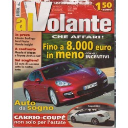 Al Volante 2009 n. 7 Citroen Berlingo-Ford Fiesta-Honda Insight