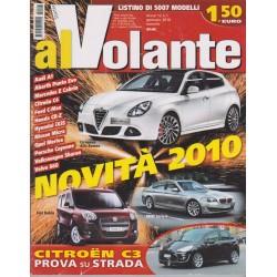 Al Volante 2010 n. 1 Renault Megane-Citroen C3-Skoda Yeti