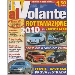 Al Volante 2010 n. 2 Fiat Punto Evo 1.3 Multijet-Ford Fiesta 1.4 16V GPL