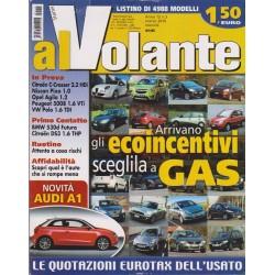 Al Volante 2010 n. 3 Citroen C-Crosser-Nissan Pixo-Opel Agila 1.2