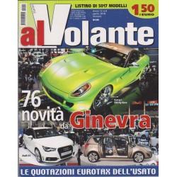 Al Volante 2010 n. 4 Renault Scenic-Citroen DS3