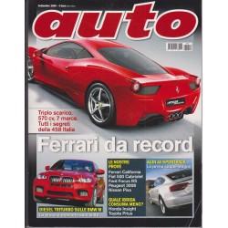 Auto  9-2009 Ferari California-Fiat 500 Cabriolet-Ford Focus RS-Peugeot 3008-Nissan Pixo