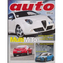 Auto 10-2009 Nissan GT-R -Audi A4 Allroad - Mecedes E Coupe-Toyota Verso