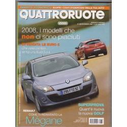 Quattroruote 638-2008 VW Golf 1.4-Honda Jazz 1.4 I-Vtec-Iveco Campagnola 3.0 HPT