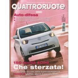 Quattroruote 639-2009 Toyota iq 1.0 Multidrive 68 CV- Audi Q5 2.0 Tdi-Infinity FX37S