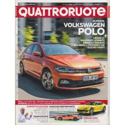 Quattroruote 746-2017 VW Polo-Lexus LC- Maserati Levante-Renault Koleos