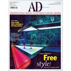 AD nr.311 Aprile 2007 Salone del mobile di Milano, Free Style