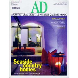 AD nr.315 Agosto 2007 Seaside and country homes, vivere bene al mare e in campagna