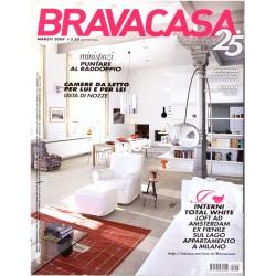 Brava Casa Marzo 2009 Nr. 3 - Minispazi, camere da letto, interni total white