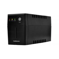 UPS Gruppo di continuità Mediacom M-UPS650N 650VA/390 Watt