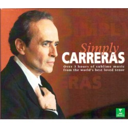 Josè Carreras-Symply Carreras-Over 3 hours of sublime music from the world's best loved tenor