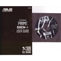 DRIVER CD + MANUALE ASUS PRIME B360M-A