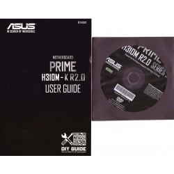 DRIVER CD + MANUALE ASUS PRIME H310M-K R2.0