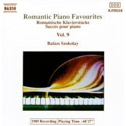 Balázs Szokolay - Romantic Piano Favourites Vol. 9