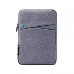BORSA CUSTODIA SLEEVE IPAD MINI  EBOOK TABLET 7.9 GRIGIO/AZZURRO""