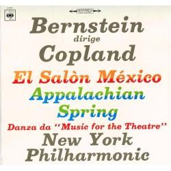 "Copland: New York Philharmonic, Bernstein - El Salòn México / Appalachian Spring / Danza Da 'Music For The Theatre'"""